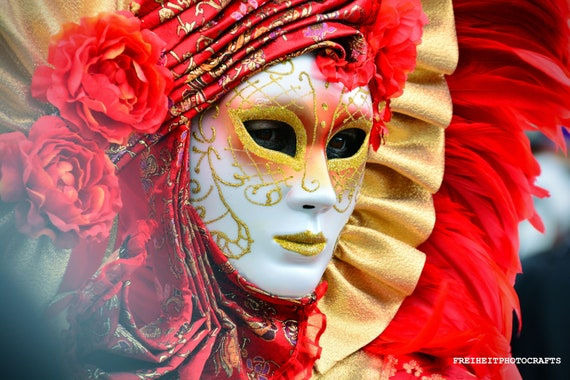 Carnevale di Venezia photographic prints.