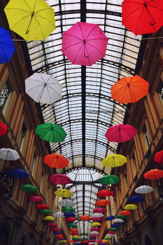 "Poster photographic print ""Umbrella""."