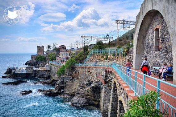 Genoa-Nervi promenade photographic prints.