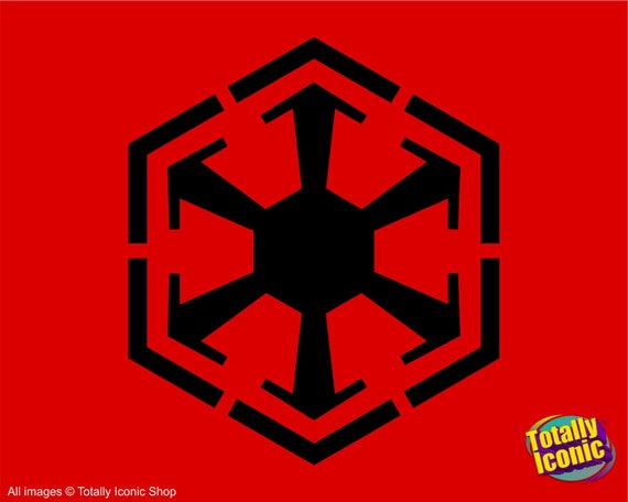 Sith Empire Symbol Star Wars Drinks Coaster Mats Dark Side Etsy