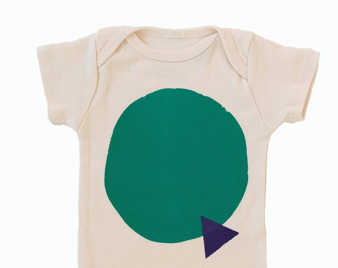 Featured listing image: SHAPES - Baby Bodysuit