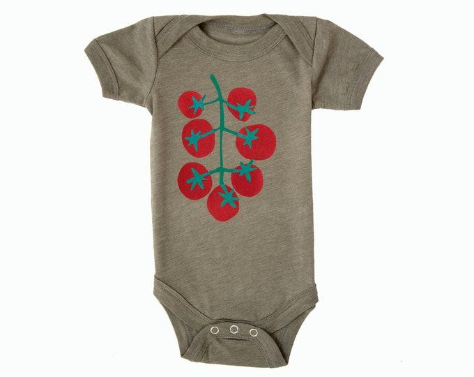 TOMATOES Baby Bodysuit - Olive