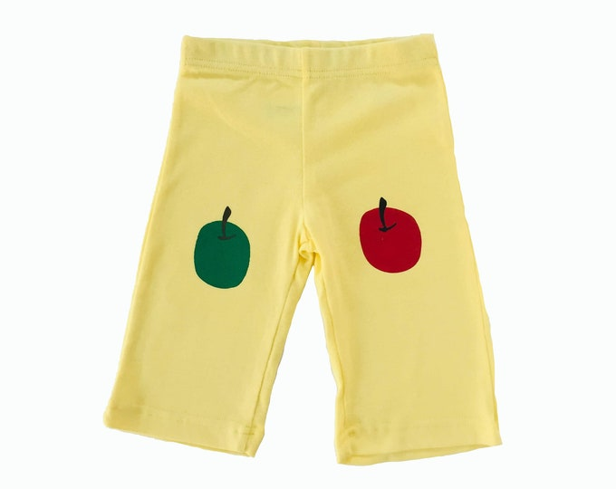 Apples Pants- Yellow