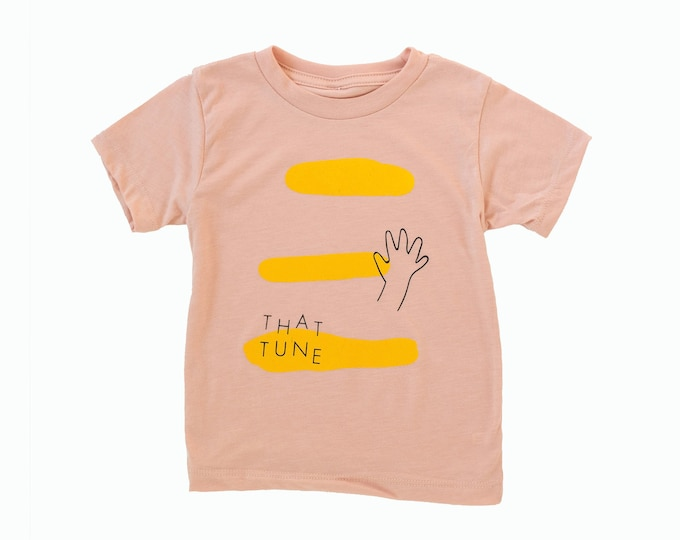 That Tune Toddler Tee - Pink