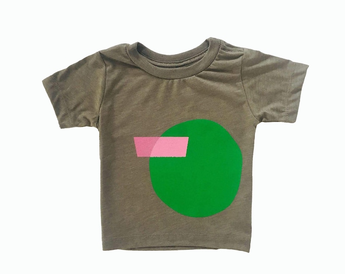 SHAPES Tee - Olive