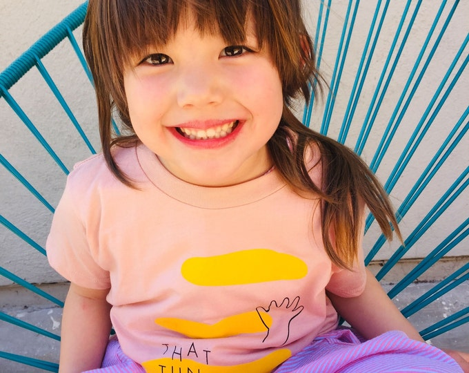 Featured listing image: That Tune Toddler Tee - Pink