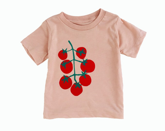 TOMATOES Toddler Tee - Pink