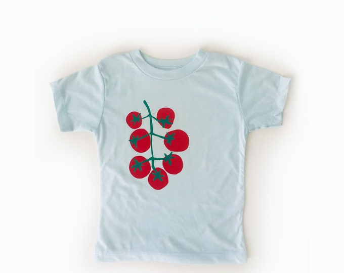 TOMATOES Toddler Tee - Pale blue
