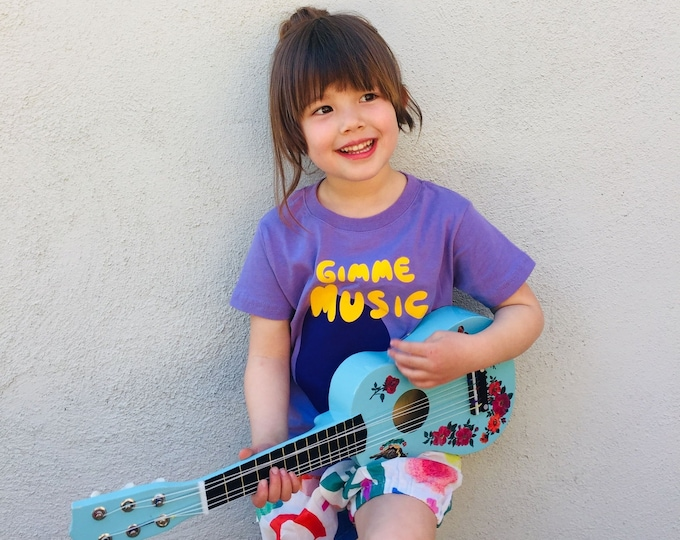 Featured listing image: GIMME MUSIC Toddler Tee - Purple