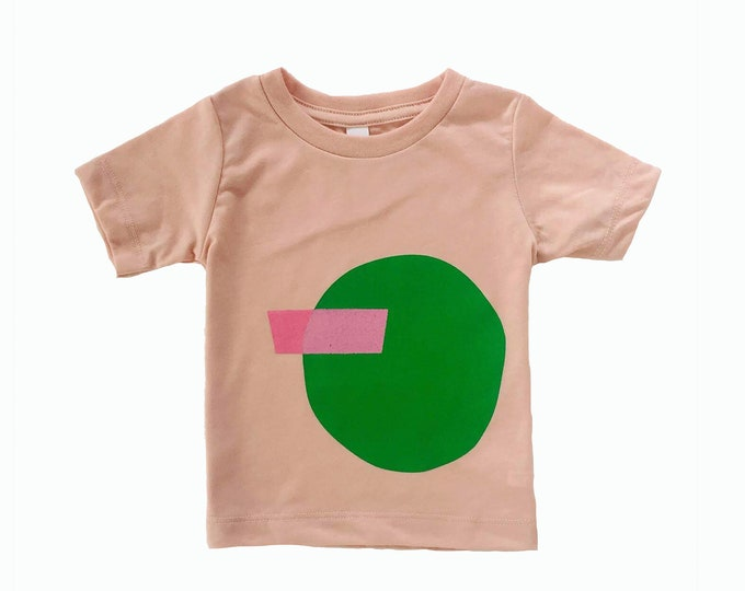 SHAPES Tee - Pink