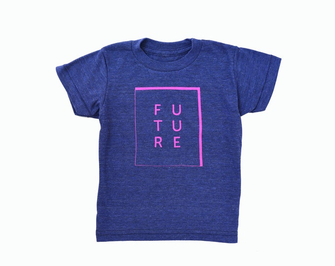 FUTURE Toddler Tee - Navy