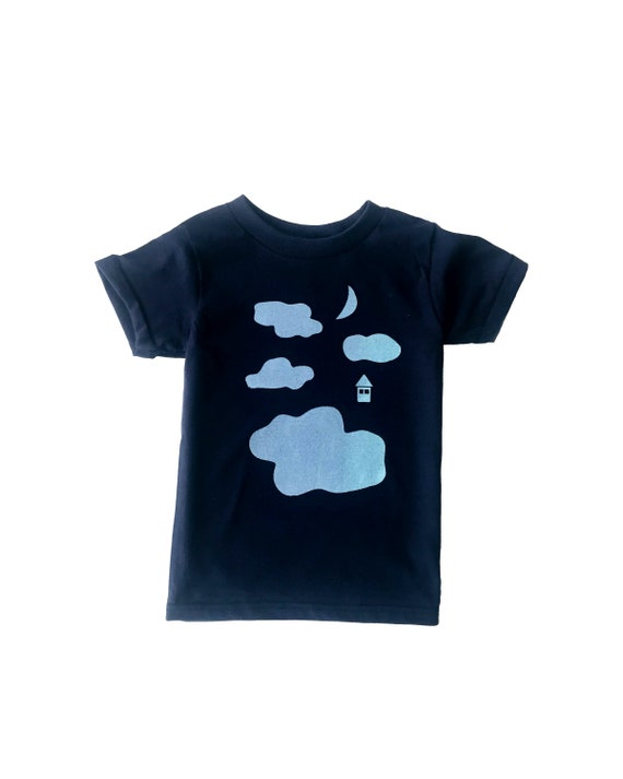 GOOD NIGHT Tee - Navy