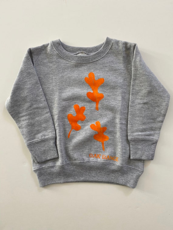 OAK DANCE - Kids Unisex Cozy Long Sleeve Sweat Shirt