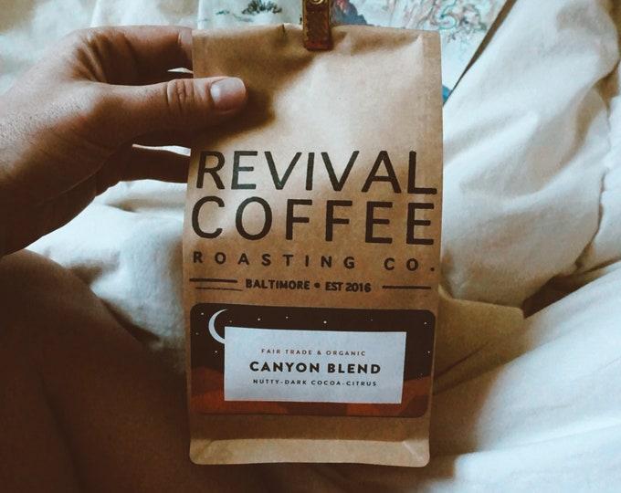 Canyon Blend (Fair Trade & Organic): National Park Foundation Campaign