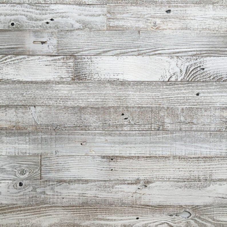 Whitewash Barn Wood 3 Wide Planks 10 Square Feet Etsy