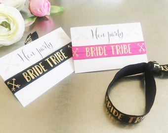 Bride tribe, wristband, hen party, hen do, hen fest, festival, hen do favour, hen party favour, bride squad, team bride, favor, bachelorette