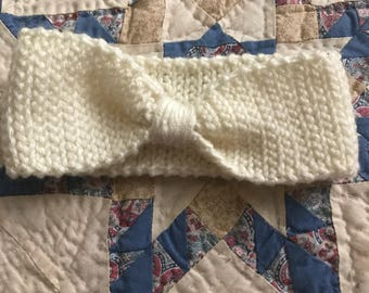 Winter Knotted headband