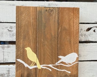 Feather pallet decor pallet wall decor feather pallet wall