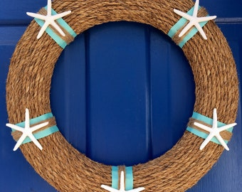 Nautical Rope Wreath- Large