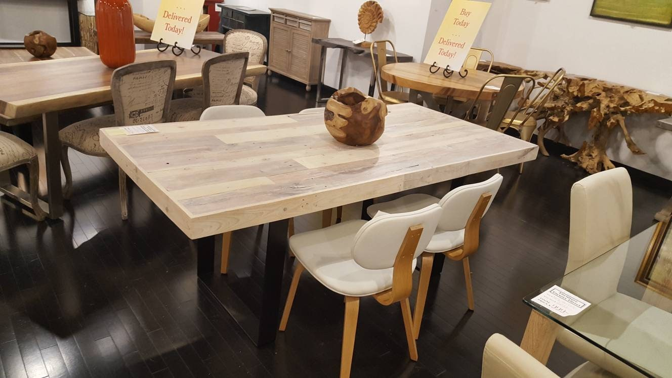 Sale Reclaimed Dining Table Kitchen Table Dining Cafe Table