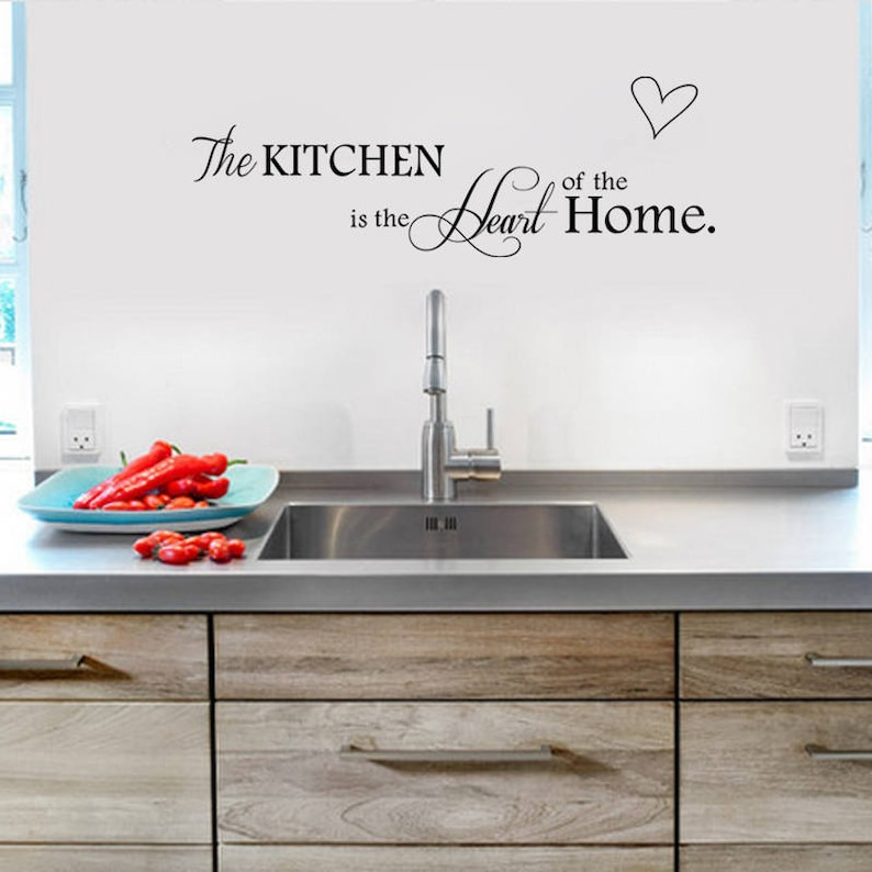 How To Clean Kitchen Wall Stickers Decor