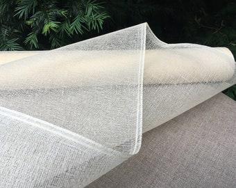 TARLATAN 100% cotton color ivory, ecru 130cm width 50 cm