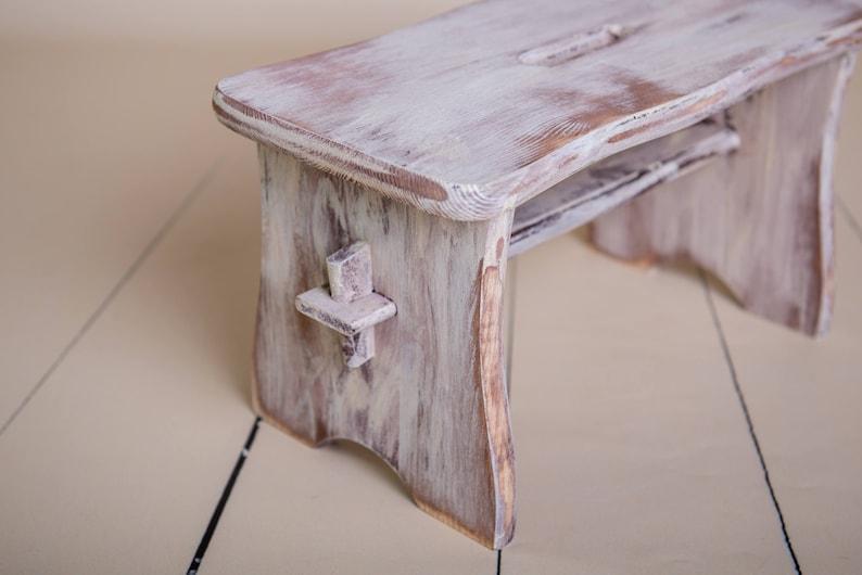 Sgabello in legno photography prop baby per i più piccoli etsy