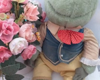 Wind in The Willows Vintage large collecatable toy Mr Toad 1980s by Golden Bear approx 40 cms just fabulous - lots more on other listings xx
