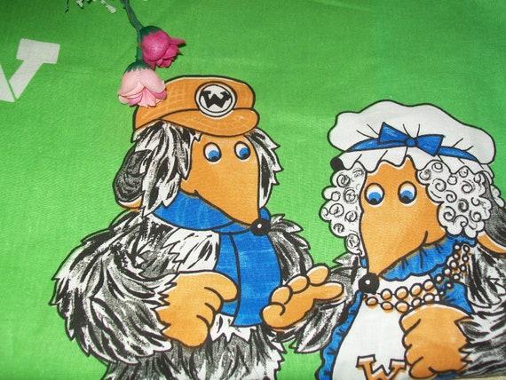 The Wombles Vintage Pillowcase | Etsy