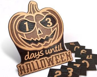 C180-Halloween calendar - Scroll saw pattern (pdf, dxf, svg, eps)
