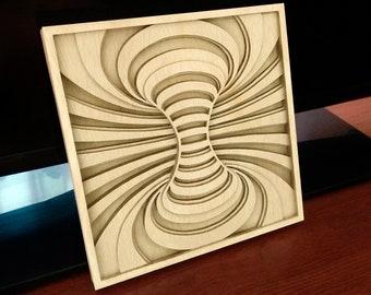 C181-Illusion - Scroll saw pattern (pdf, dxf, svg, eps)