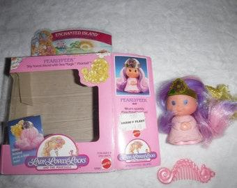 Vintage Lady Lovely Locks Enchanted Island Pearlypeek Doll w/Original Packaging
