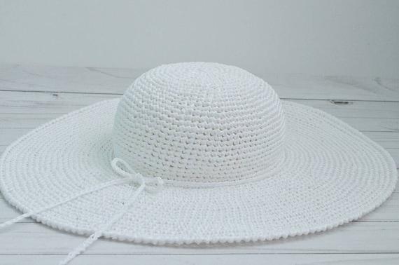 99c9ad46f06 White beach hat wide brim hat floppy hat wide brim straw