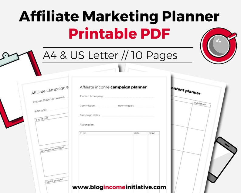 graphic relating to Printables Blog referred to as Associate Advertising Planner, Website Planner Printable. Printable Website Planner, Website Printables, Planner Incorporate, Planner Package, Planner Webpages