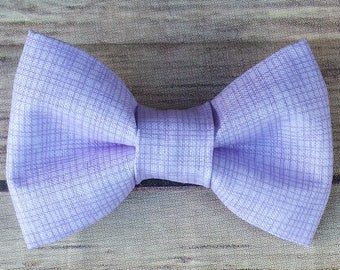 ec05cd9cbc11 Lavender Dog Bow Tie / Light Purple Cat Bow Tie / Bow Tie / Collar Bow Tie  / Removable Dog Bow Tie / Pet Bow Tie / Dog Lover Gift