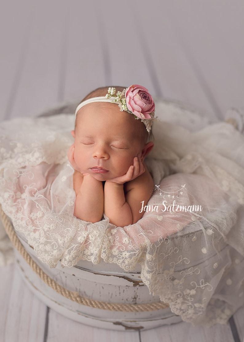 band photo shoot girl/'s band baby band baby photography band newborn accessories Newborn band