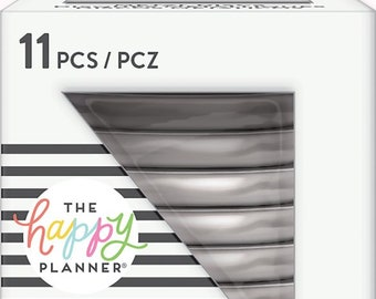 Happy Planner METAL Medium Discs in Silver, MAMBI Discs, Create 365 Discs