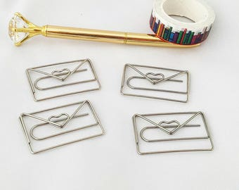 Happy Mail Paper Clip