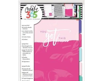 Create 365 Mini Happy Planner 6 Month Extension Pack MAMBI