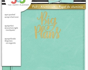 Mini Happy Planner Snap-in Cover, Big Plans MAMBI