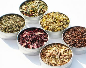 Sample Pack of  Loose Organic Tea