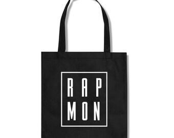 RAPMON BTS KPOP Fan Totebag