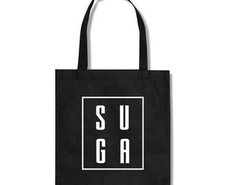SUGA BTS KPOP Fan Totebag