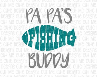 Download Fishing Buddy Dxf Etsy