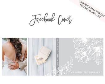 Facebook Cover photo | Photographer Facebook Cover | Wedding Photography | Blog Header | Website Header
