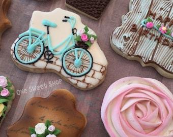 Vintage Birthday Cookies