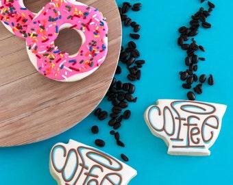 Coffee n' Donut Cookies