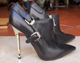 a84592e601e Versace boots | Etsy