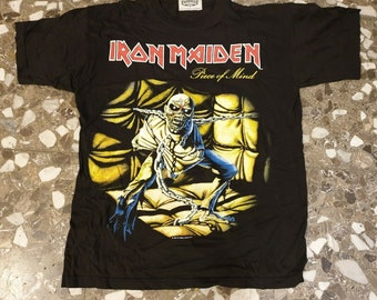 6ca47b776d2 Piece of Mind T-shirt  1983 Iron Maiden Holdings Ltd. Licensed