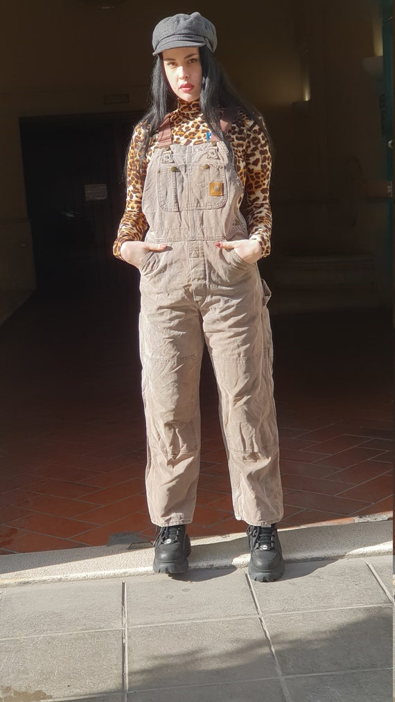 Vintage dungarees overall Carhartt workwear Jeans